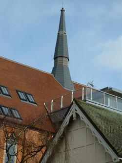 GRP church spire