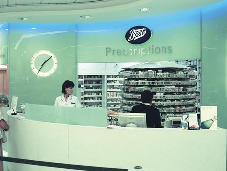 Interior clocks for shops