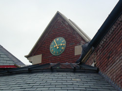 Copper Traditional Clock