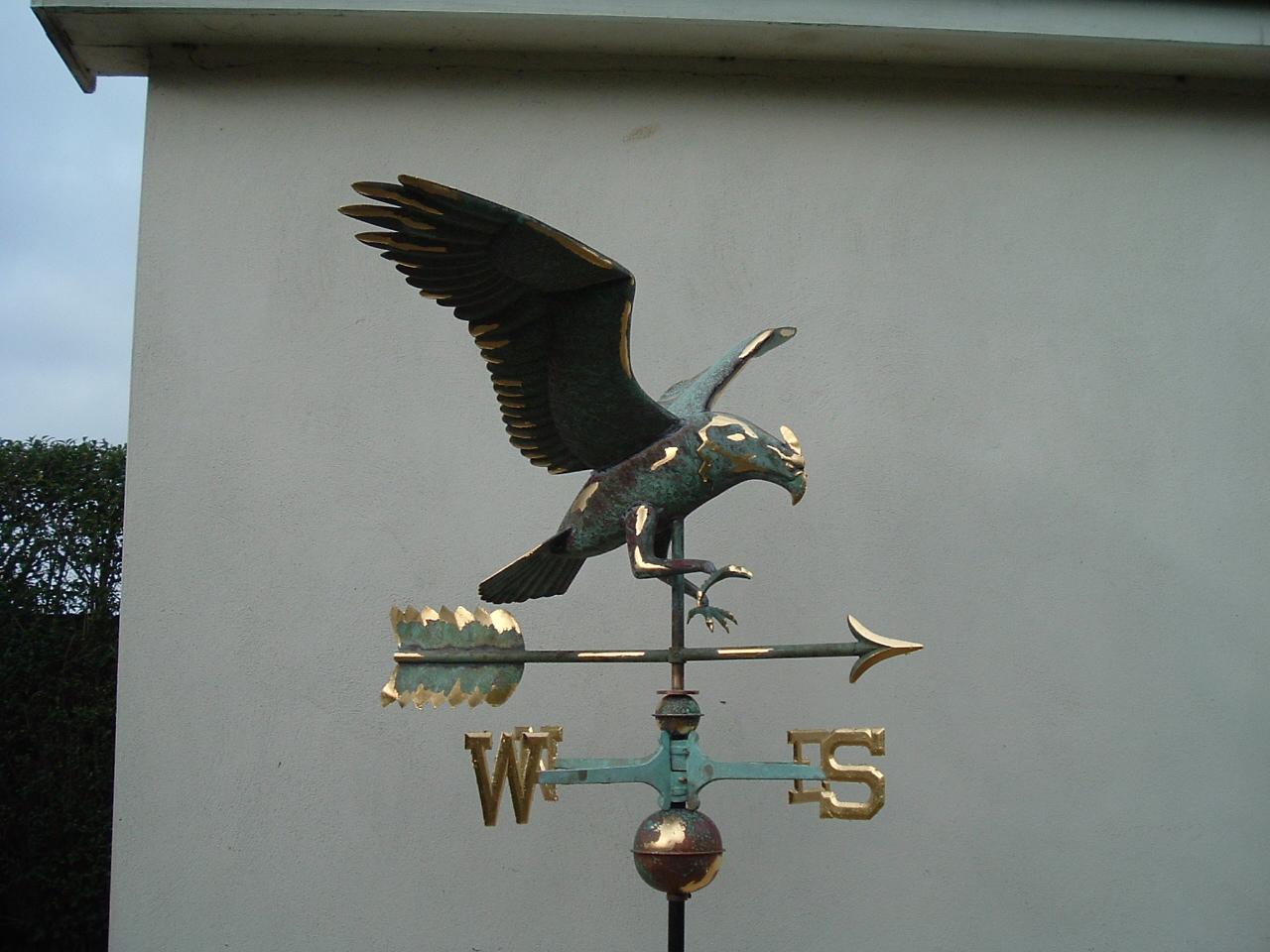 Weathervane - Partially gilded Eagle