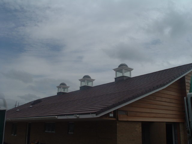 Matching roof turrets