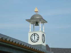 Bell tower with clocks