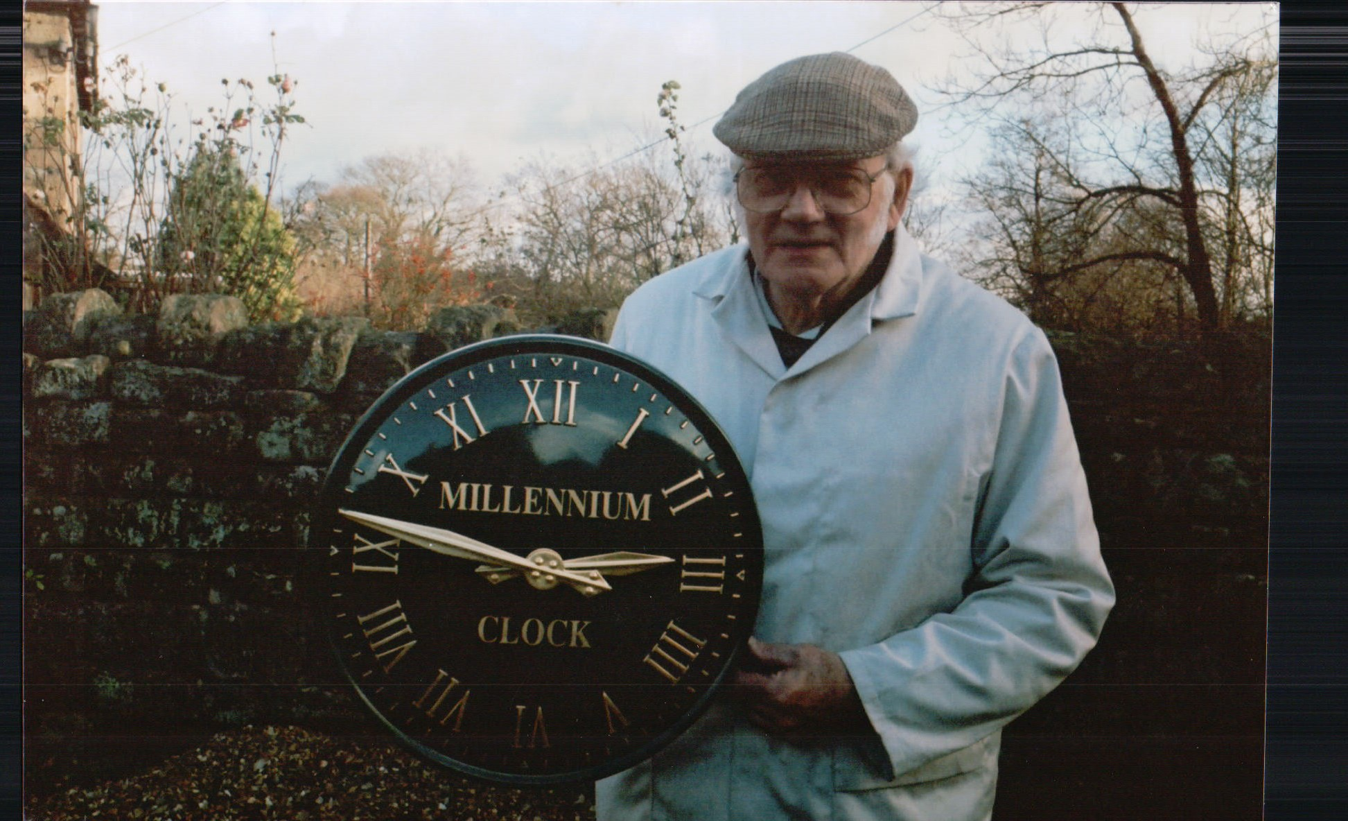Commemorative Outdoor Clock