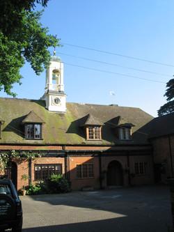 Bell clock tower