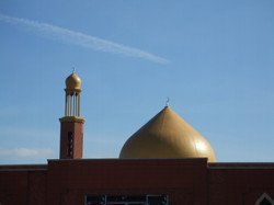 Mosque dome and minaret