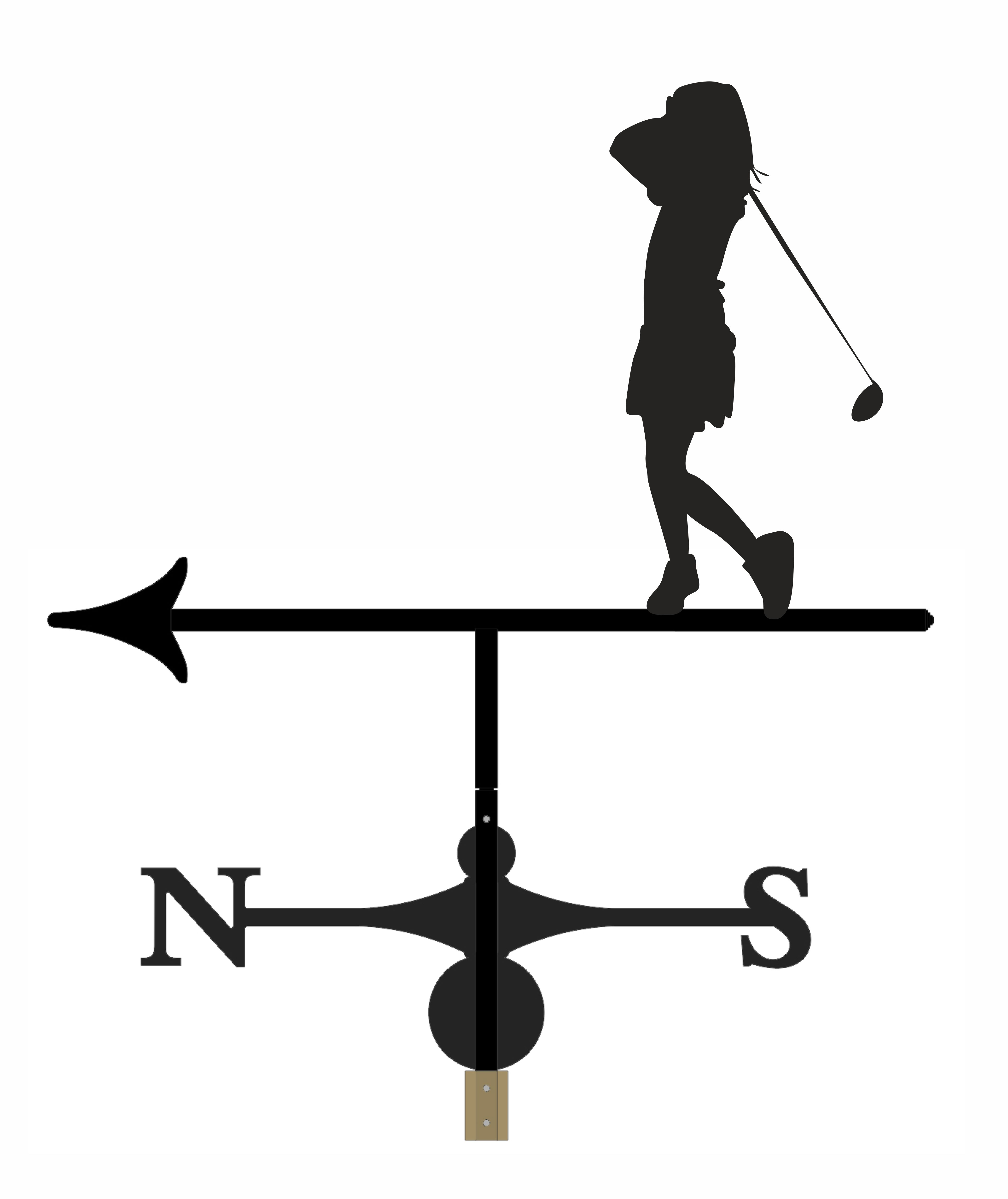 Weathervane - Golfer 4
