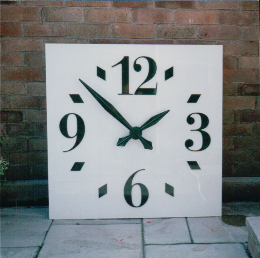 Bespoke large Arabic style outdoor clock