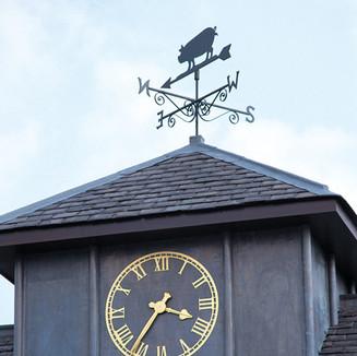 Exterior Clocks and Weathervanes