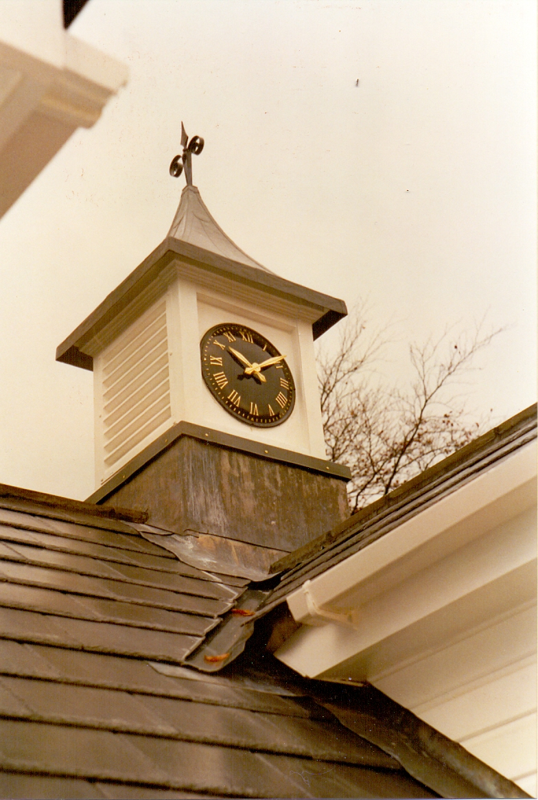Exterior Clock Tower for Garage