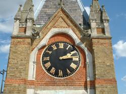 Restored clock dial