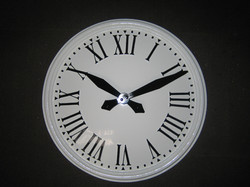 Large Outdoor Clock for Wall
