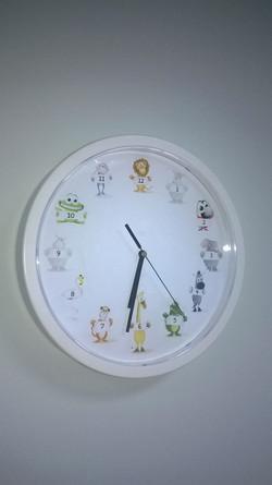 Bespoke interior clock