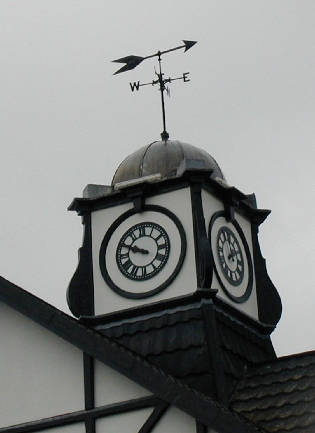 Golf Club Pavilion Clock