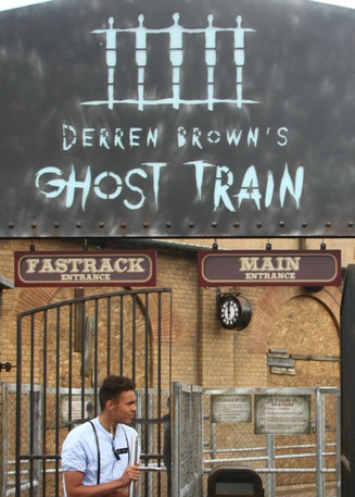 Derren Brown Ghost Train