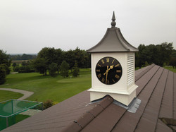 Clock towers for golf courses