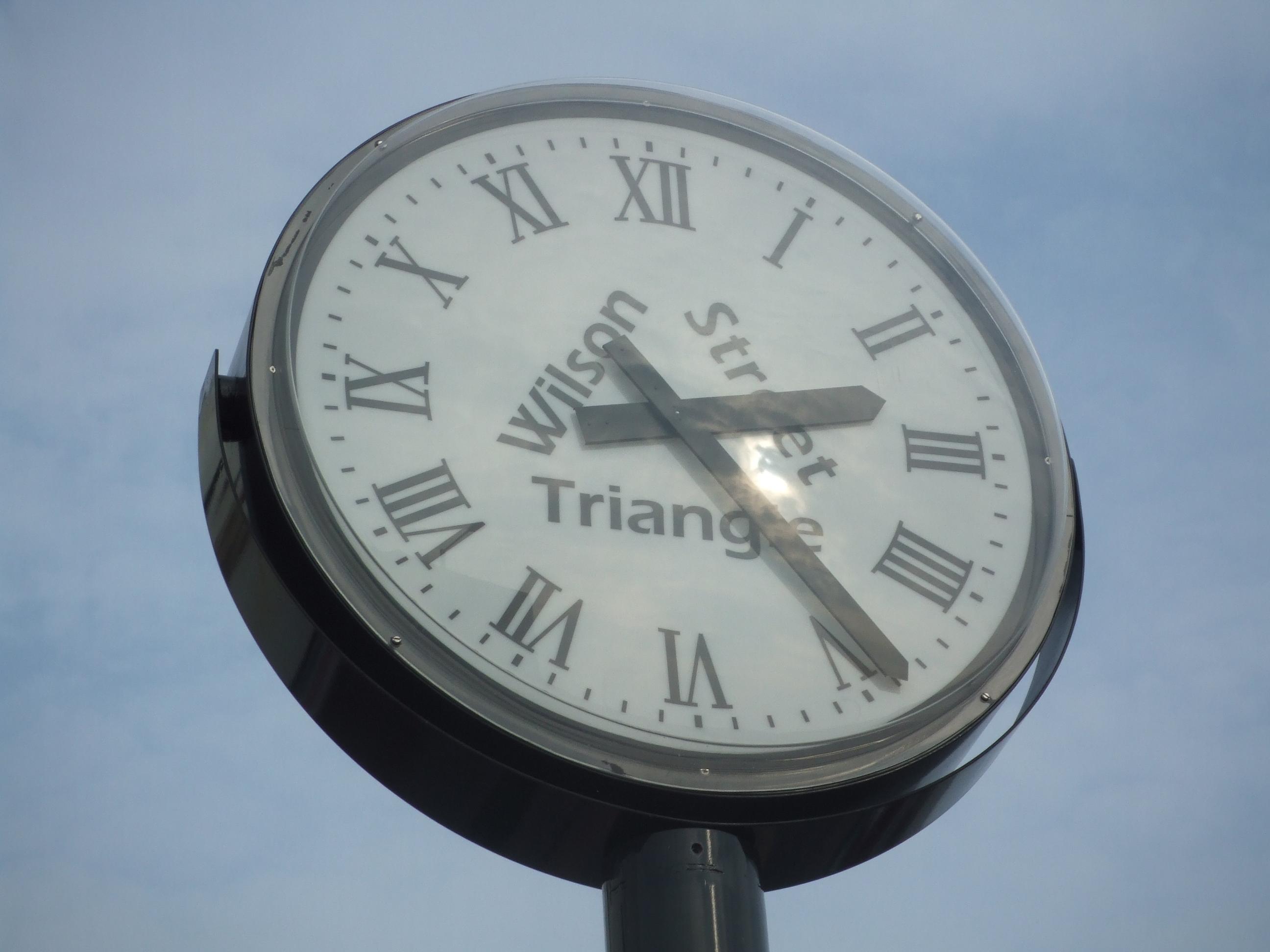 Sign Written Clocks