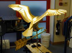 Weathervane - Fully gilded Eagle