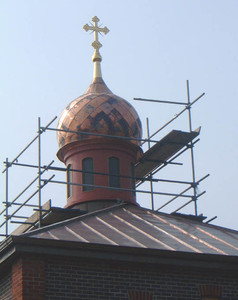 GRP Orthodox Roof Feature