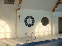 Pool House Clock