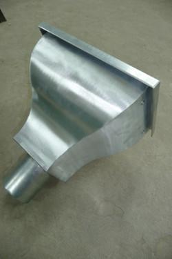 Zinc standard hopper head