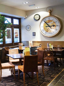 Interior clock for Wetherspoons