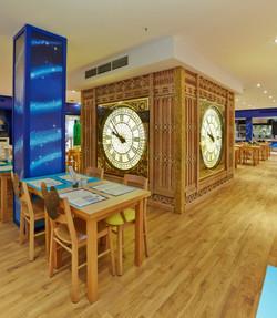 Clocks for Disney Cafe Harrods