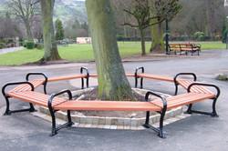 Avenue Octagonal Tree Bench