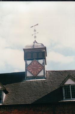 Bespoke clock tower