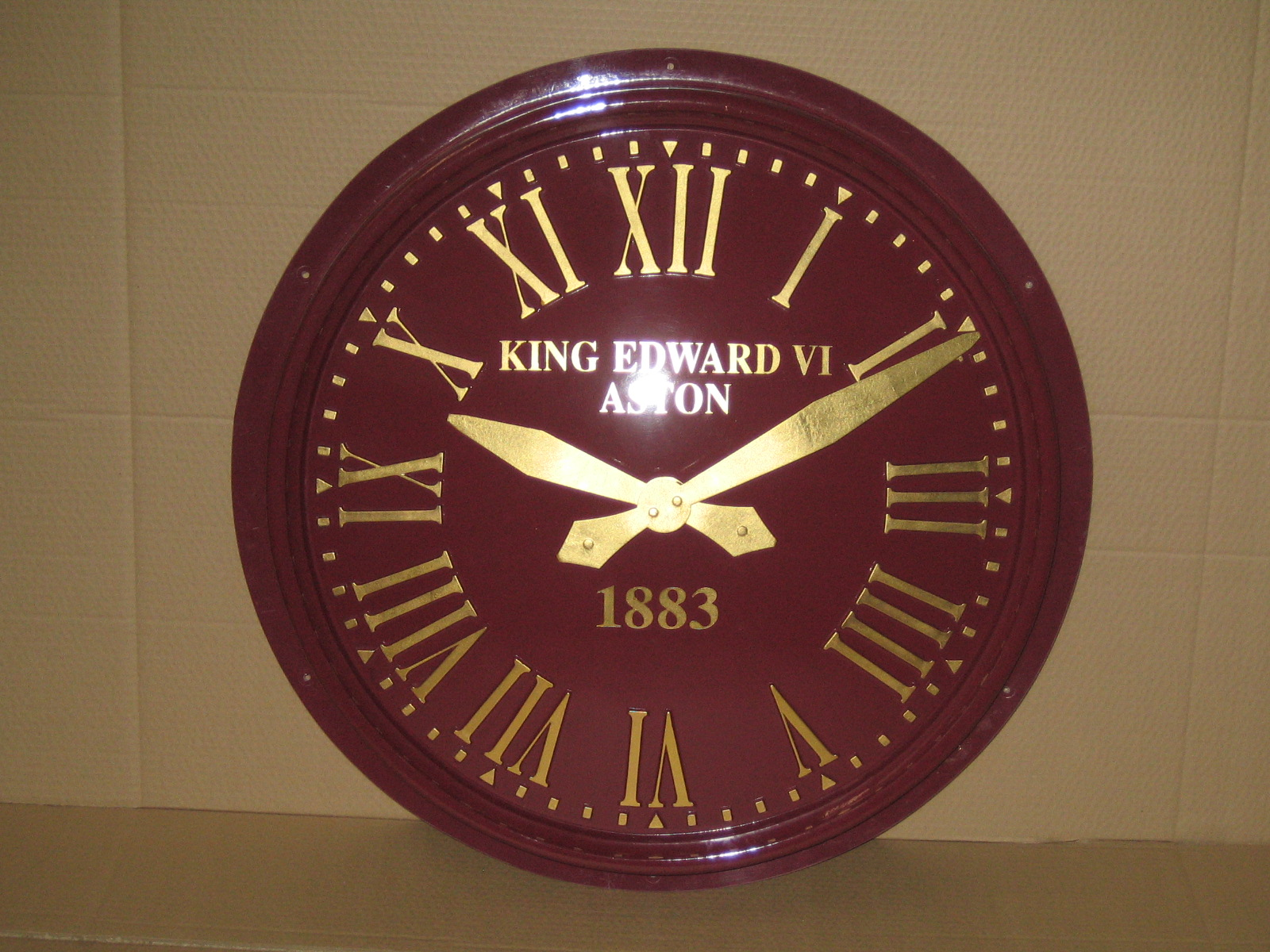 Exterior Clock for Buildings