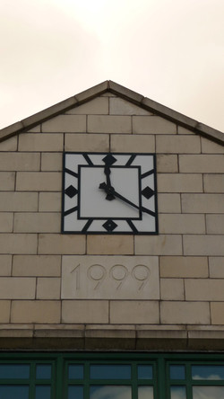 Barnstable Bus Station Clock