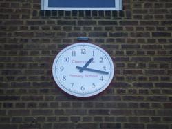 School playground clocks