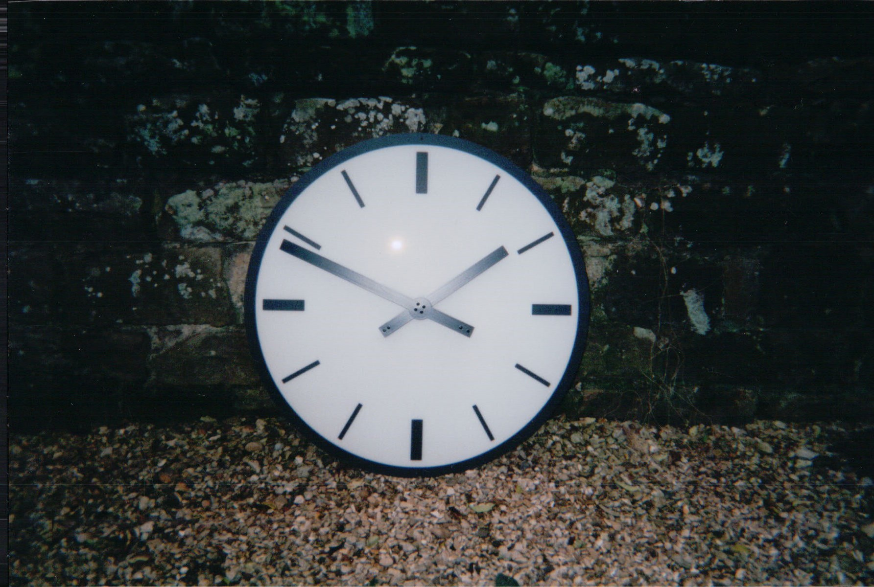 Modern style clock for school playground