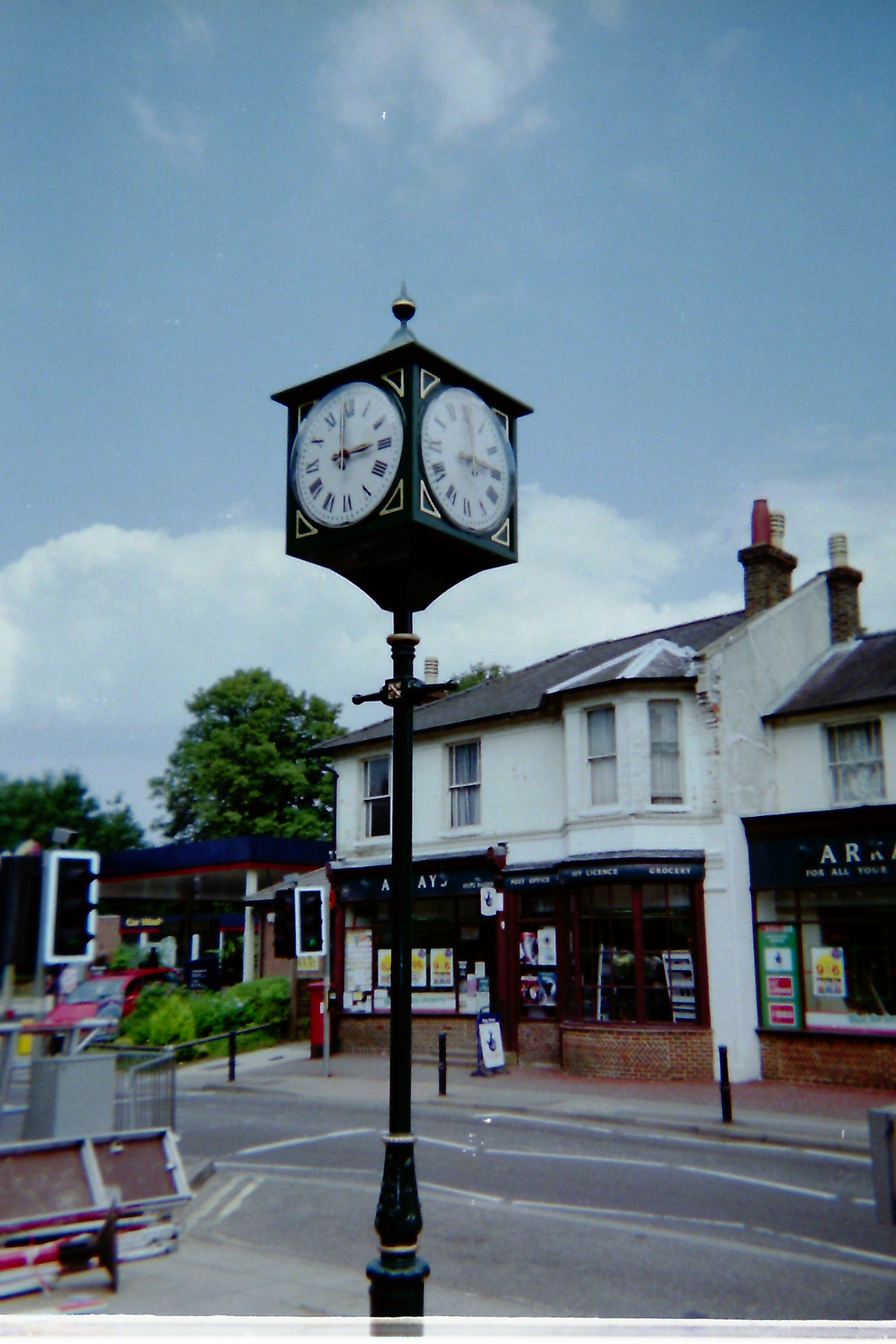 Pillar Clock for civic centre