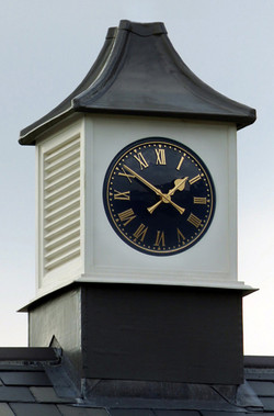 Clock tower with one clock