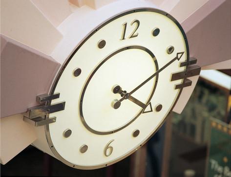 Large interior clocks