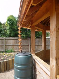 Bespoke Copper Rain Cups