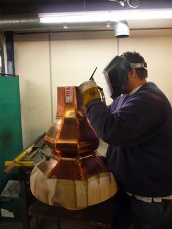 Bespoke Copper Finial