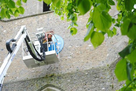 Public clock restoration and repair