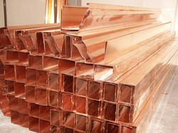 Copper Ogee gutter