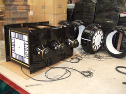 Square Drums being manufactured