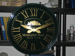 Mains Powered Clocks for outside