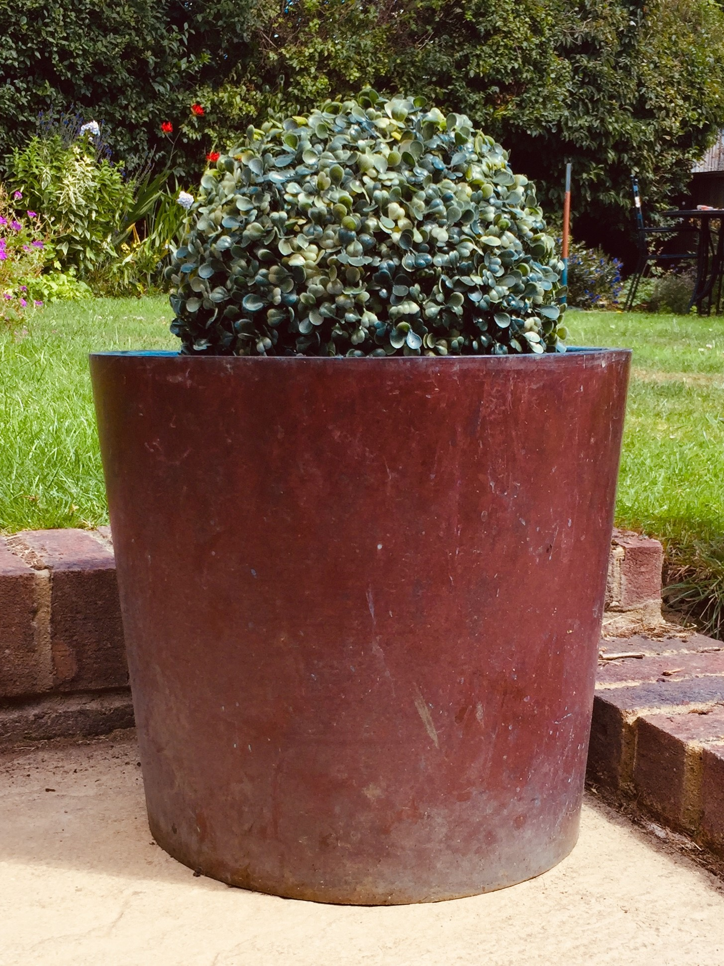 copper planter 18