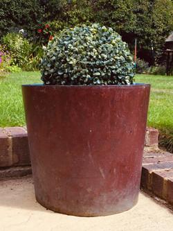 copper planter 18