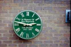 Green Devon Roman Outdoor Clock