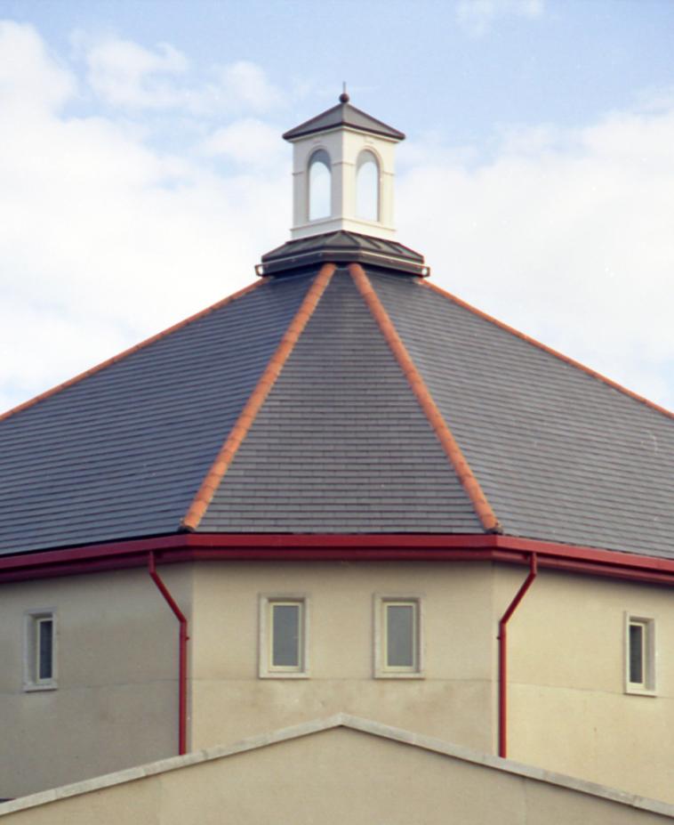 Glazed cupola