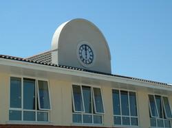School building clock