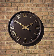 Exterior and Outdoor Clock Dial sizes