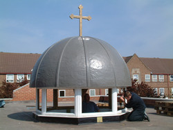 Church Dome Roof in GRP