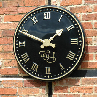 Heritage style clock