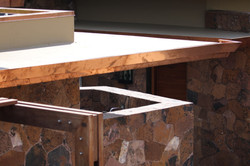 Copper flashing and trims